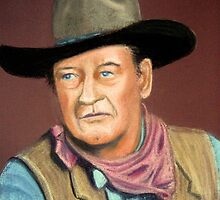 John Wayne by Hilary Robinson