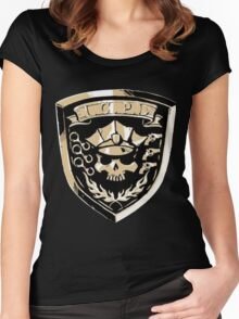 Inferno Cop Police Department Women's Fitted Scoop T-Shirt