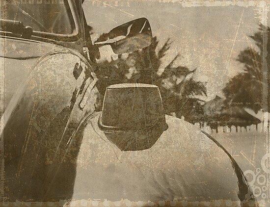 Nostalgia under palm trees by heinrich