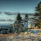 Late afternoon by Roxane Bay