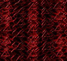 Red Caution  by Beatriz  Cruz