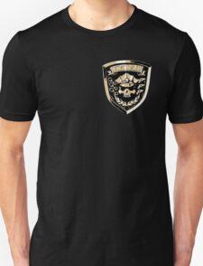 Inferno Cop Police Department - Corner Print Unisex T-Shirt