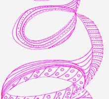 Re-Sprung Pink PSE Sticker