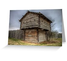 Ft. Parker Stockade and Guard Tower Greeting Card