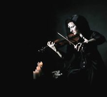 the violinist III by ARTistCyberello