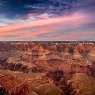 Grand Canyon - Sunset at Mather Point by Andrei I. Gere