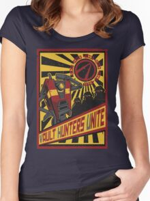 Vault Hunters Unite! Women's Fitted Scoop T-Shirt