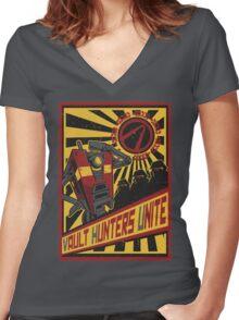 Vault Hunters Unite! Women's Fitted V-Neck T-Shirt