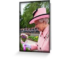 Flowers for the Queen Greeting Card