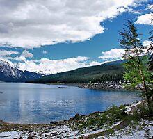 Medicine Lake, Alberta, Canada by Teresa Zieba