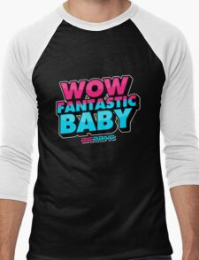 WOW FANTASTIC BABY Men's Baseball ¾ T-Shirt