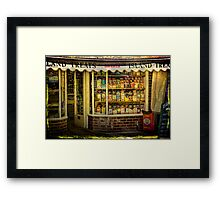 Isle of Wight Candy Store Framed Print