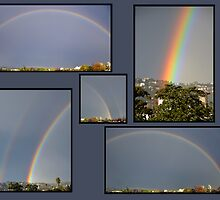 Double Rainbow Collage by tom j deters