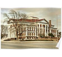 Montague County Courthouse Poster