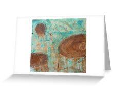 Portals, 4.5' x 4.5', metal  paint Greeting Card