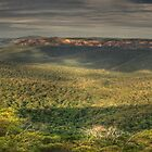 Leap Of Faith - Govetts Leap & Grose Valley (35 Exposure Panorama) - The HDR Experience by Philip Johnson
