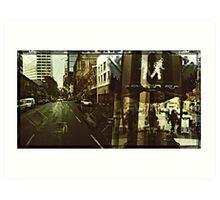 Streets of Portland 2 Art Print