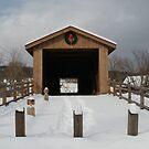 Entrance too Jay Covered Bridge, Jay, NY by linmarie