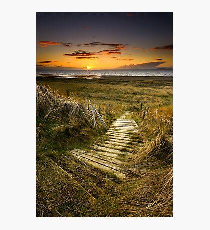 Sunset Steps Photographic Print