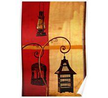 Vintage Lanterns Poster