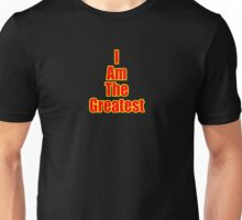 I Am The Greatest - T-Shirt - Quote Sticker Unisex T-Shirt