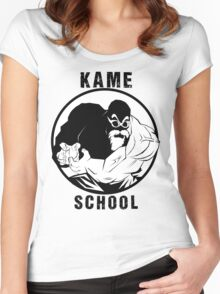 Kame School Women's Fitted Scoop T-Shirt