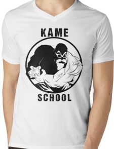 Kame School Mens V-Neck T-Shirt
