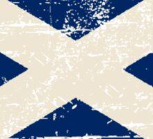 Scotland Flag - Vintage Look Sticker