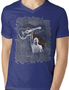 Folk Music Mens V-Neck T-Shirt