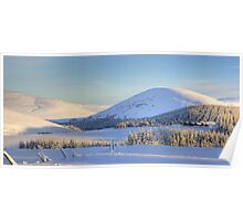 Winter Scene - Scottish Highlands Poster