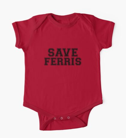 Save Ferris One Piece - Short Sleeve
