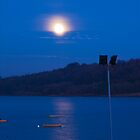 Carsington Waters, Moon Shine  by Elaine123