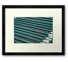 Ted Williams Longest Hit Framed Print