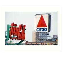Boston Citgo Sign Art Print