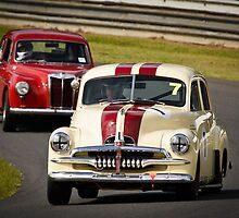 Historic Racing at Lakeside by John Quixley