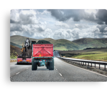 A Road with a view. Canvas Print