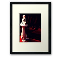 02-28-2011:  Re-capitation of Kitchen Rabbit Framed Print