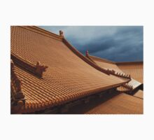 Buddhist Temple Roof Photo Kids Clothes