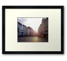 A Place To Be Framed Print