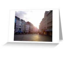 A Place To Be Greeting Card