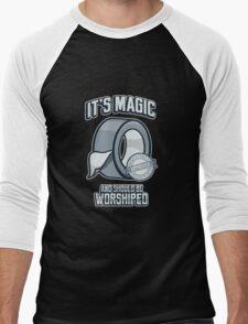 Duct Tape is Magic Men's Baseball ¾ T-Shirt