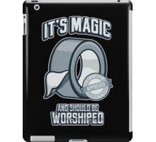 Duct Tape is Magic iPad Case/Skin