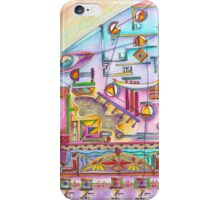 7 thoughts in color iPhone Case/Skin