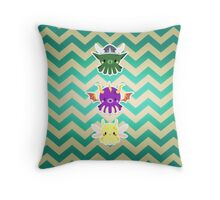 Spyro Characters Octo Style Throw Pillow