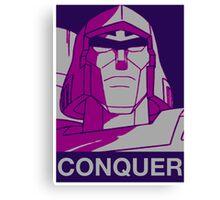 Megatron - Conquer Canvas Print