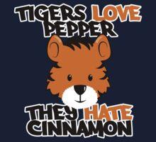 Tigers Love Pepper Kids Tee
