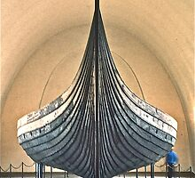 Viking Ship, Oslo, Norway by David Davies