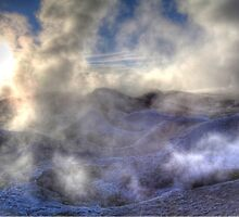 Geothermal Pools at 5300m by Paul Duckett