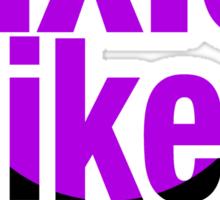 fixie bikes are useless Sticker