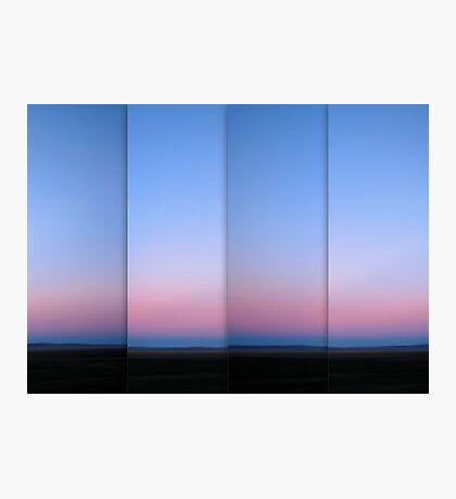 Lake George at Dusk - Polyptych Photographic Print
